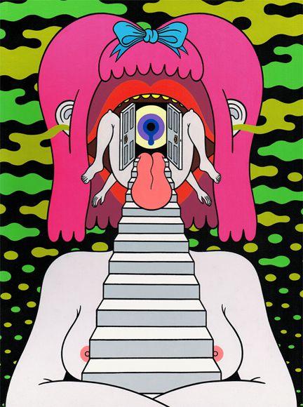 Triipy clipart sick Oliver Sick IllustrationsPsychedelic Inspiration Oliver