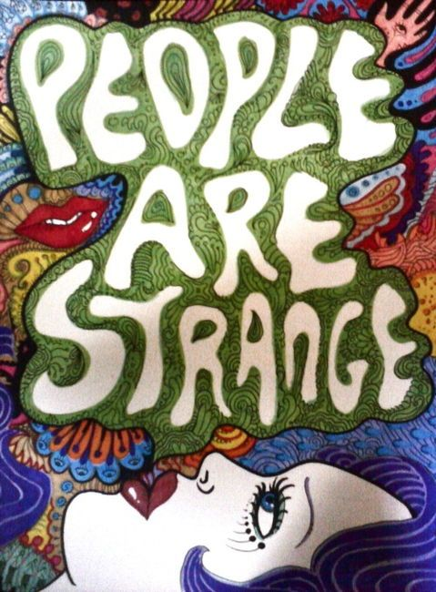 Triipy clipart strange Psychedelic Strange  Strange will
