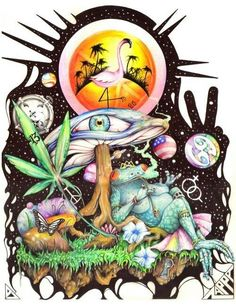 Triipy clipart strange And Hippie  Trippy✌ Art