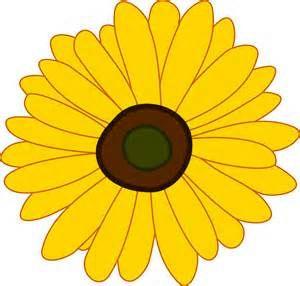 Trippy clipart sunflower #4
