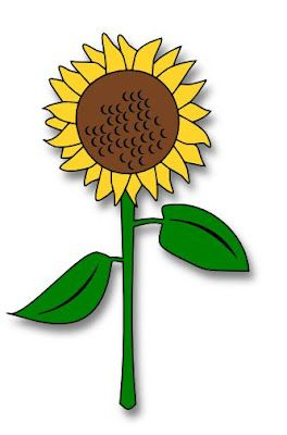 Triipy clipart sunflower / best / Sunflower Cricut