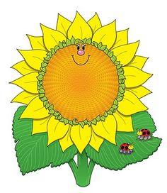 Trippy clipart sunflower #1