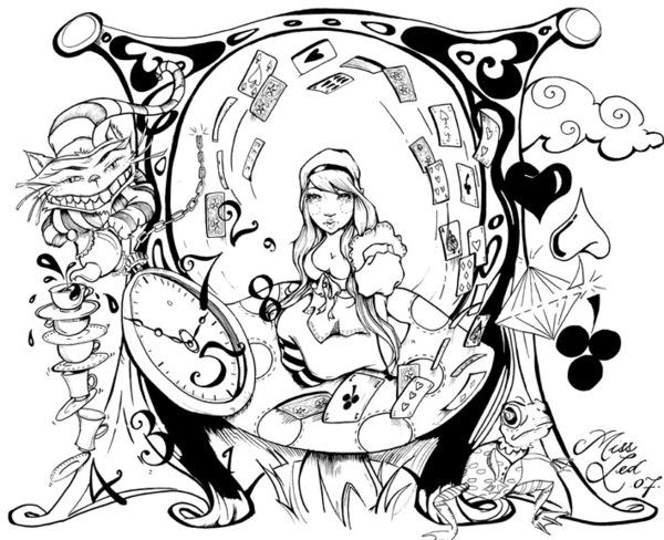Triipy clipart trippy color Alice Psychedelic Alice Bathroom and