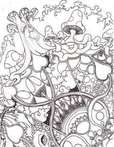 Triipy clipart trippy color Coloring Find this Pages Pages: