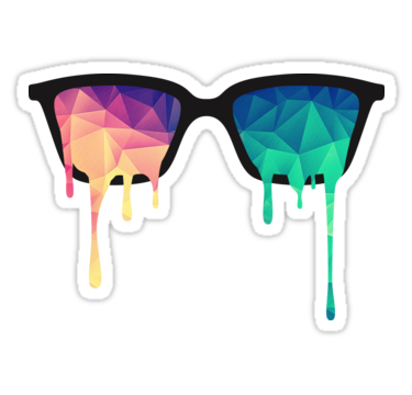 Trippy clipart colorful #3