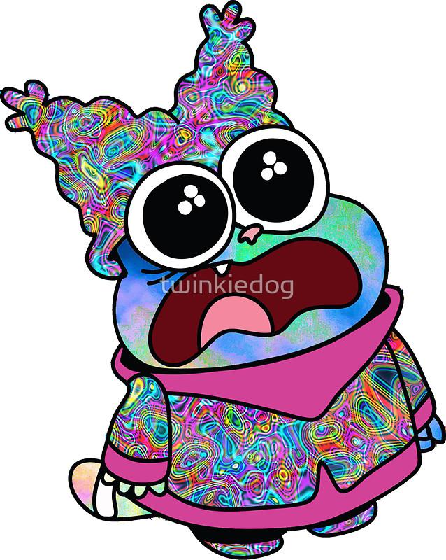 Triipy clipart tripy Redbubble Rainbow) Trippy Rainbow)