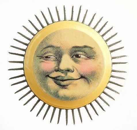 Triipy clipart vintage sun On Love the shading sun