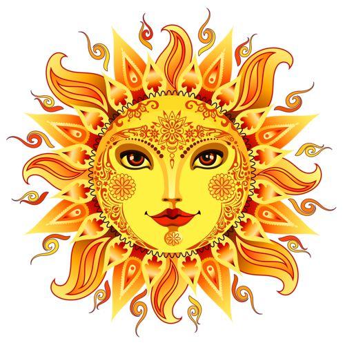 Triipy clipart vintage sun On Sun Sun this art
