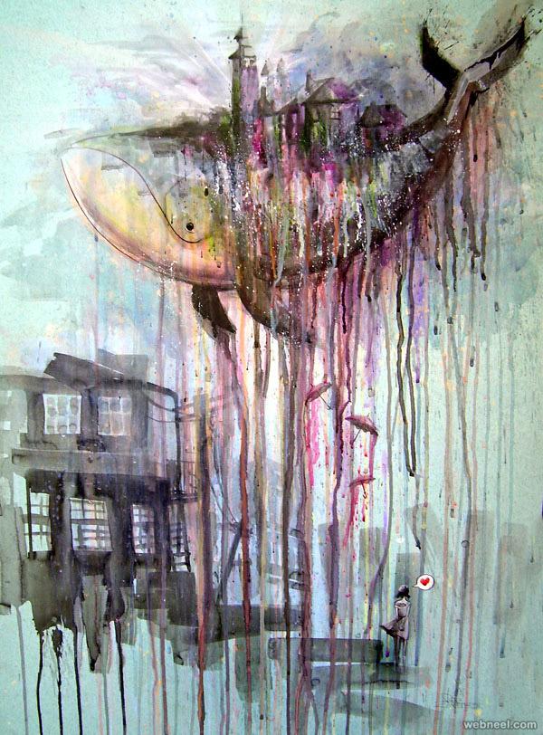 Triipy clipart watercolor Works zombie lora Art Beautiful