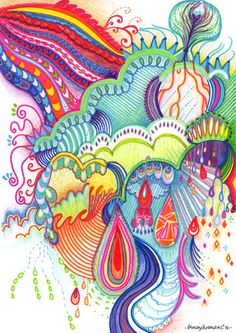 Triipy clipart watercolor Pinterest Inspiration psychedelic Trippy Art
