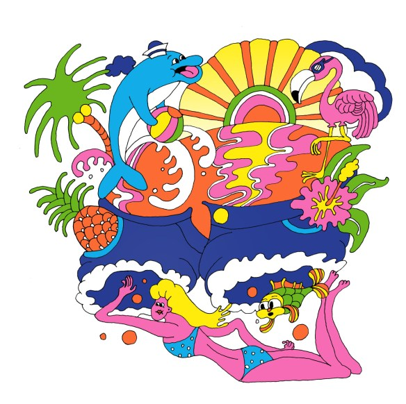 Trippy clipart Wakama OF psychedelic trippy THE