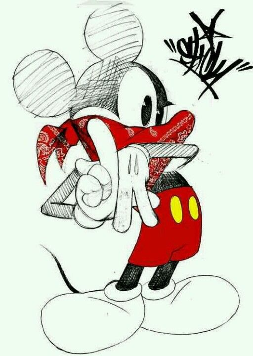 Trippy clipart mickey mouse #13