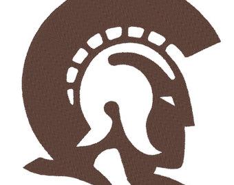 Trojan clipart shield 3 Little Etsy Trojans Trojan
