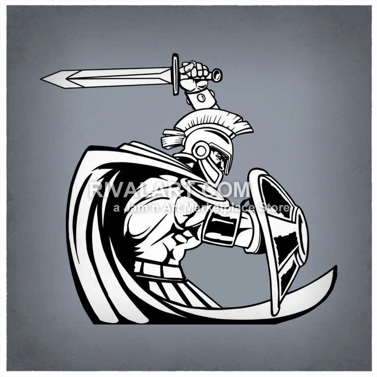 Trojan clipart shield Trojan Trojan com a on