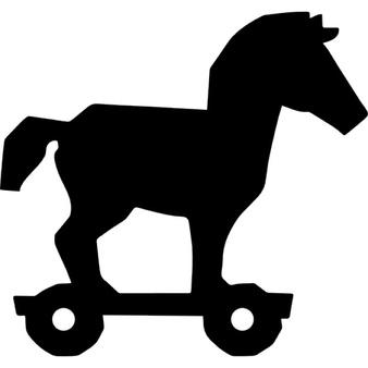 Trojan Horse clipart Trojan horse PSD Free Vectors