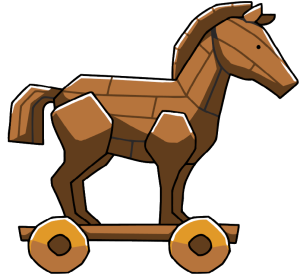 Trojan Horse clipart Differences of Trojan (51+) Clipart