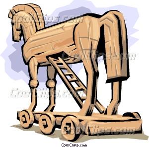 Trojan Horse clipart Trojan Horse Vector Clip art
