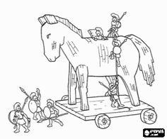 Trojan Horse clipart ancient greece Grecia La page
