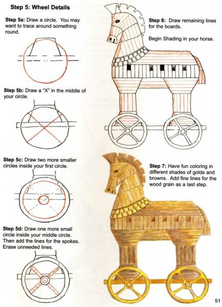 Trojan Horse clipart ancient greece Horse Pinterest History PDF and
