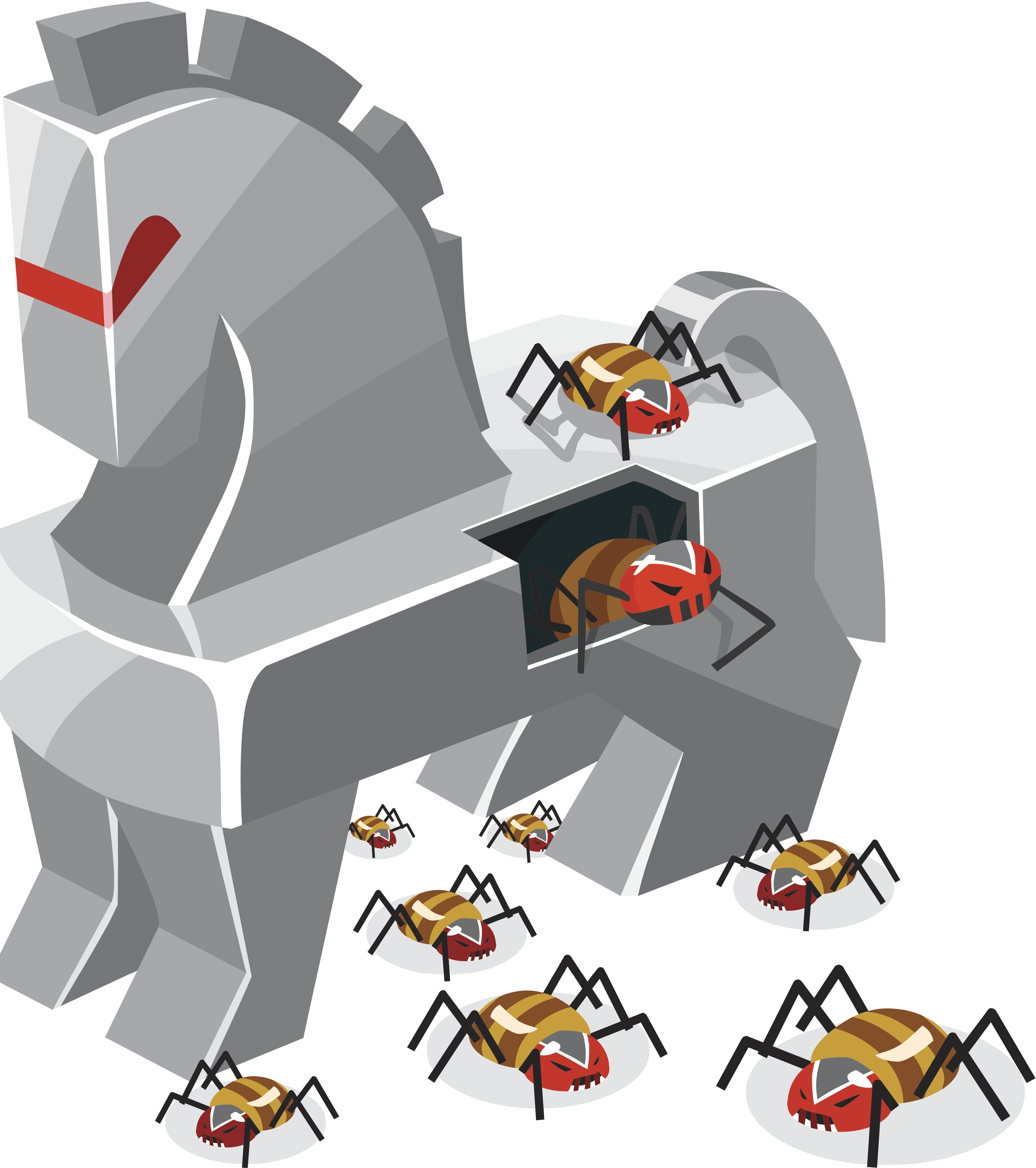 Trojan Horse clipart wooden Trojan it how and Trojan