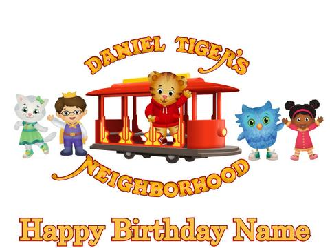 Trolley clipart daniel tiger Topper Temporary Tattoos Gayle Trish