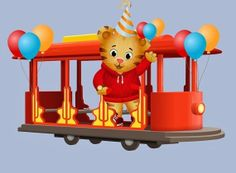 Trolley clipart daniel tiger Icing label DOWNLOAD Daniel water
