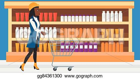 Trolley clipart empty Clipart with with Drawing Vector