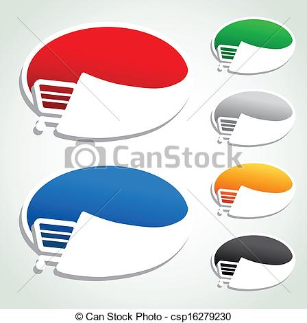 Trolley clipart item Oval Vectors cart shopping Vector