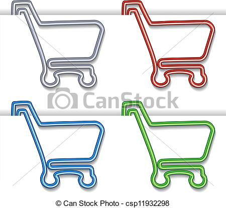 Trolley clipart item Trolley EPS  cart cart