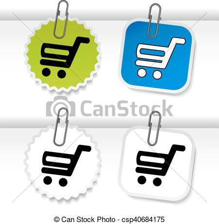 Trolley clipart item Page cart Item and for