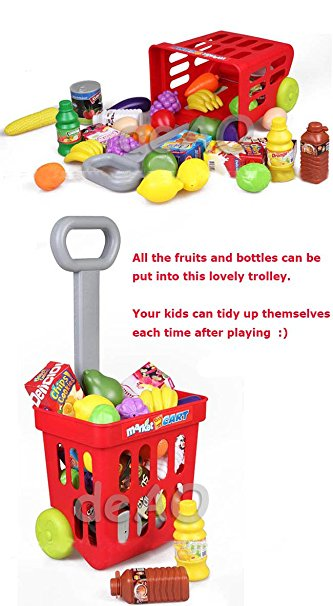 Trolley clipart kid Market Trolley Play with And