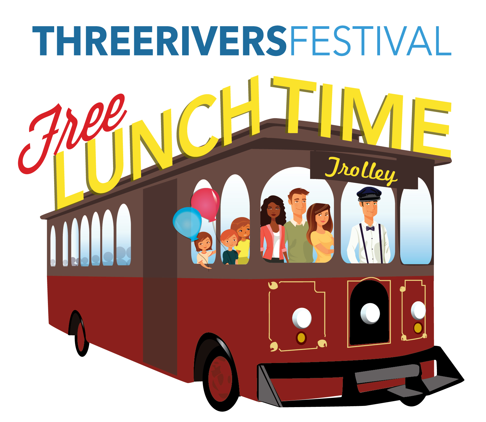 Trolley clipart lunch Lunchtime Lunch trolley – Rivers