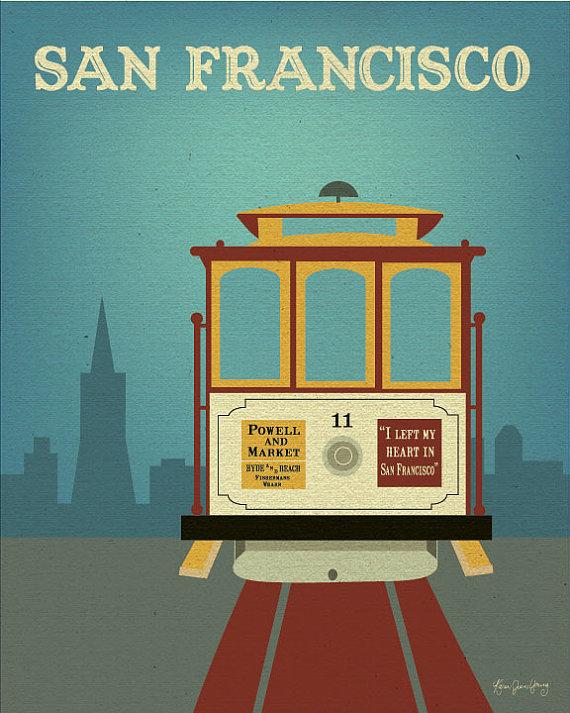 Trolley clipart san francisco cable car Nursery City O Baby City