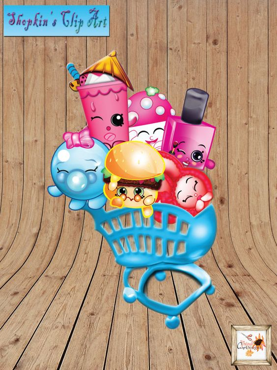 Trolley clipart shopkins Party BBCpersian7 Shopkins collections Two
