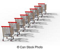 Trolley clipart trolly 22 clip  3D Trolleys