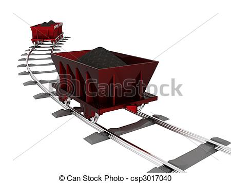 Trolley clipart trolly Object Stock Trolley with [3D