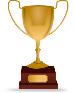Trophy clipart vector Clipart Black And Clipart Clipart