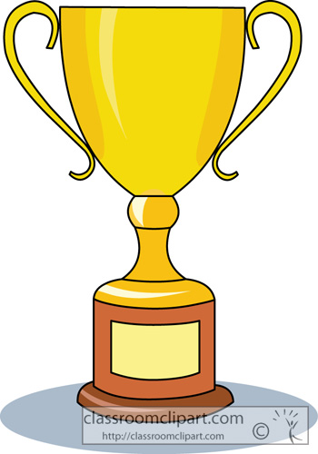 Trophy clipart golf trophy Gold Trophy com cup Transparent