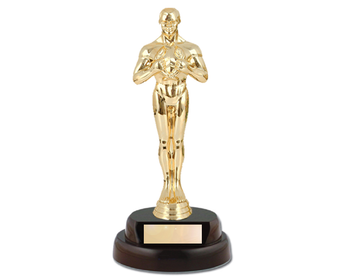 Oscar clipart best actor award Awards Trophy – Art Clipart