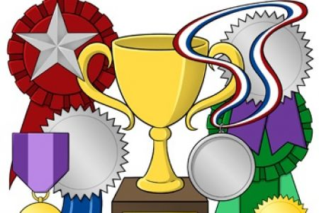 Trophy clipart award ceremony Art awards Sports Award Clipart