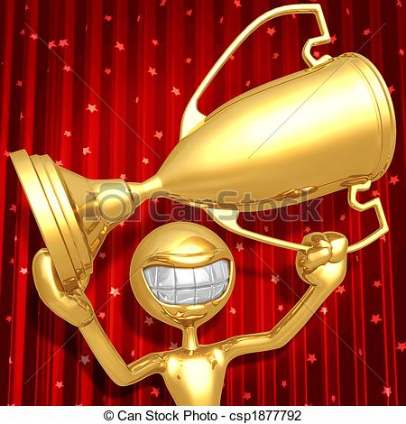 Trophy clipart award ceremony Concept Stock  Trophy Award