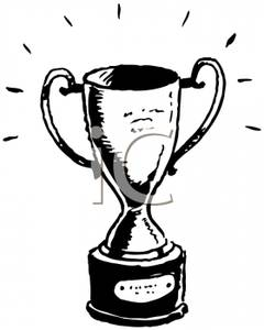 White clipart trophy Picture Free Trophy Clipart Royalty