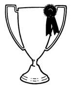 White clipart trophy Free Panda trophy clipart Clipart