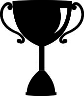 White clipart trophy Clip  Clipart Clipart and