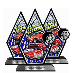 Trophy clipart car show Wood Show Trophies Car