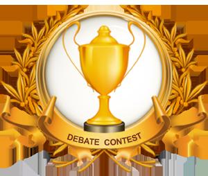Trophy clipart debate Debate