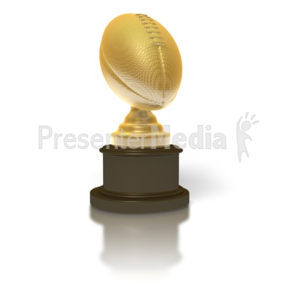 Trophy clipart football trophy For PowerPoint Clip Clipart and