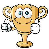 Trophy clipart funny Making Cartoon Royalty Fist Achievem