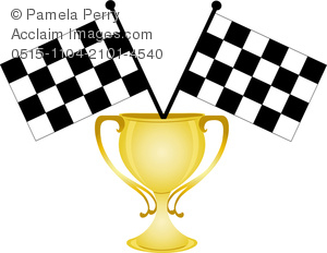 Trophy clipart gold cup Of Art of Flags a