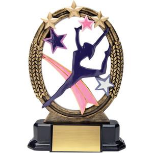 Gymnastics clipart trophy Premier Tri Trophies Star Your